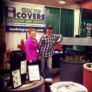 Matt and Danielle at trade show